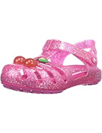 crocs Isabella Novelty Girls Sandal in Pink