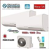 Olimpia Splendid Climatizzatore Condizionatore Dual Nexya S4 9+9 14kw Wi-Fi R-32