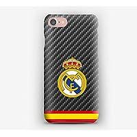 Funda para el iPhone X, 8, 8+, 7, 7+, 6S, 6, 6S+, 6+, 5C, 5, 5S, 5SE, 4S, 4, Real Madrid Club de Fútbol