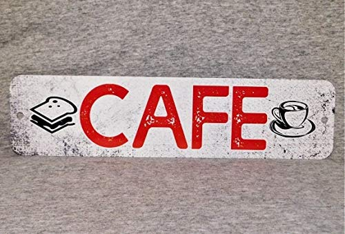 Metal Sign Cafe Coffee Shop Coffeehouse Diner Food Greasy Spoon Drinks Java Tea Joe Latte Restaurant Sandwich Shop
