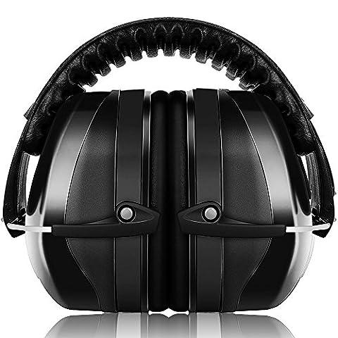 Casques Anti Bruit ECHTPower Casque Antibruit à Réduction du Bruit