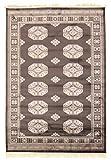 Trendcarpet Teppich 160 x 230 cm (wilton) - Charikar (schwarz) Größe 160 x 230 cm