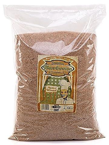 Axtschlag Räuchermehl Alder-Erle 4,5 kg, mehrfarbig - Alder Wood Chips Fumatori