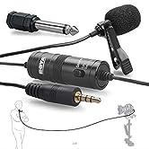 übersicht die BY-M1 Lavalier Clip-on Omnidirektionale Kondensatormikrofon ist für video einsatz und bietet klar und präzise stimme reproduktion. Newscaster stil design bietet effektive omnidirektionale pickup muster. dies ist die beste leistung + ko...
