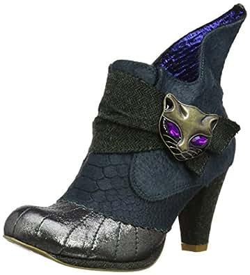 Irregular Choice Women's Miaow Boots 3432-2Q-36 Green 3.5 UK, 36 EU