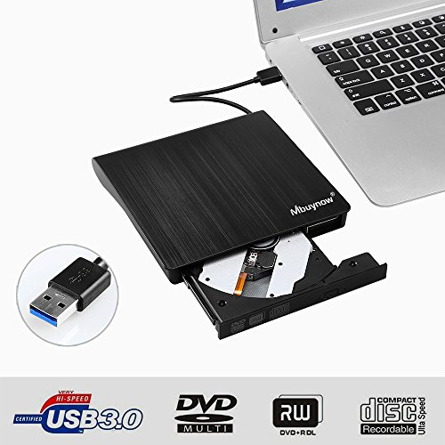 CD/DVD Recorder Portable Externa...