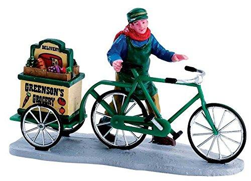 Lemax - Greenson´s Grocery Delivery - Figuren & Zubehör - Polyresin - Kleine Weihnachtswelt
