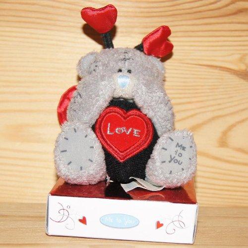 """Preisvergleich Produktbild Me to You Teddy Bär als Käfer """"LOVE"""" mit Fühlern und Herz ca.: 7 cm 114005"""