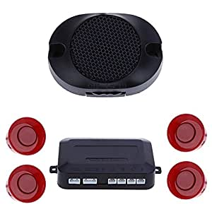 teckey kit radar de recul beeper pour voiture camping car alerte syst me aide au. Black Bedroom Furniture Sets. Home Design Ideas