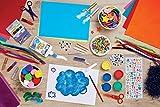 Craft Planet CPT80251 Funky Foglio di schiuma, Blu, 9 x 12 inch, 2 mm