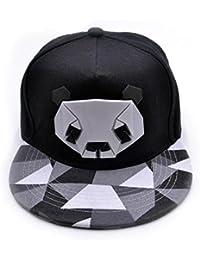 Gorras de Béisbol ❤ LuckyGirls Unisex Panda Hip Hop Sombreros e7a8c2ac55f