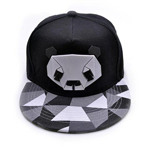 3e7cee0bc LuckyGirls Gorras de Béisbol Unisex Panda Hip Hop Sombreros (Talla ...