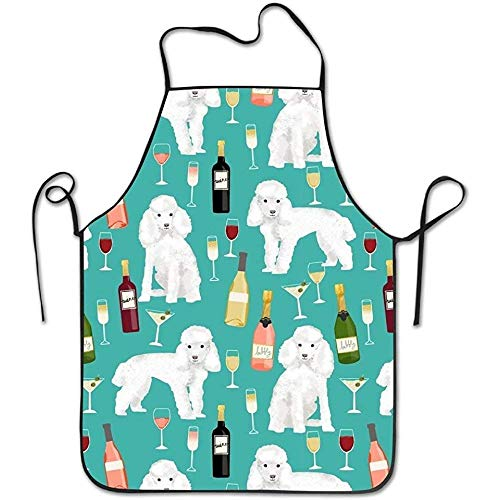 R2d2 Kostüm Für Hunde - HTETRERW Poodle Puppy Colorful For Family Woman Cooking Aprons Waterproof Wrinkles Studio Apron