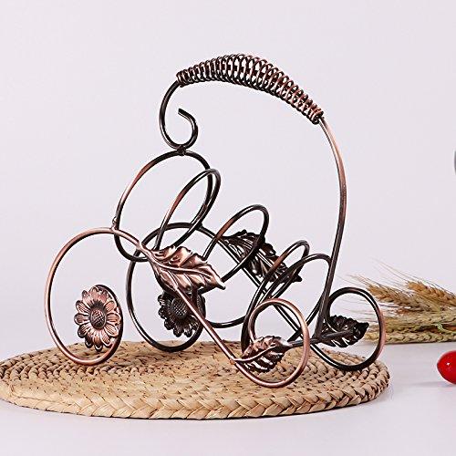 Creative Cantinette vino bronzo rack