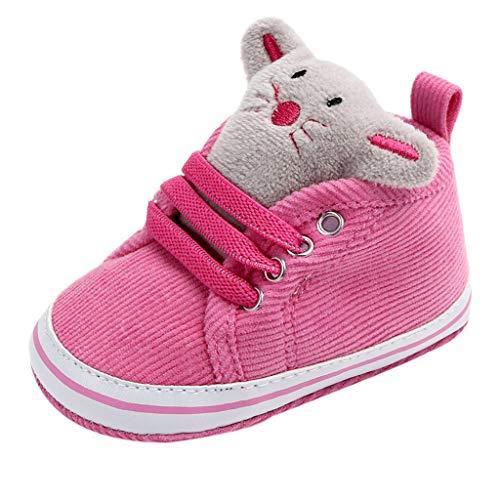 8ee372edc8d Mitlfuny Invierno Otoño Unisex Calzado Zapatos de Lona Primeros Pasos de  Bebé Antideslizantes Suave Dibujos Animados