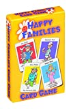Childrens Card Games - Jungle Snap, Pairs on Wheels & Happy Families 3 Pack
