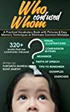 #3: Who Confused Whom: A Practical Vocabulary Book with Pictures & Easy Memory Techniques to Eliminate Common Mistakes