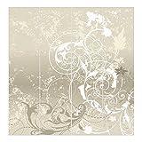 Bilderwelten Schiebegardinen Perlmutt Ornament Design - Ohne Aufhängung, 4X 250 x 60cm