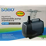 Pettree Submersible Power Head - WP-5000-60W - F.Max 3000 L/H - Sobo - Water Lifting Pump - Pond & Fountain & Filter Sump Filter Systems