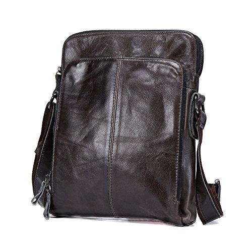Leder Männer Messenger Bag Freizeit Crossbody Umhängetasche Kleine Handy Taschen (Lv Handtaschen Für Den Mann)