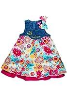Pampolina Mädchen Kleid o. Arm Cord 6493018