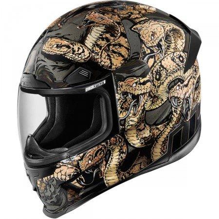 Icon–Integral Helmet Airframe Pro Cottonmouth 57/58m-0101-9327