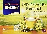 Meßmer Fenchel-Anis-Kümmel, 50 Beutel, 6er Pack (6 x 100 g)