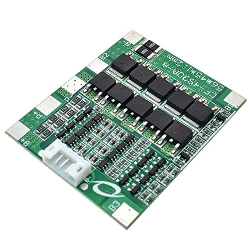 TOOGOO 4S 30A 14,8 V Li-Ion Lithium Batterie 18650 BMS Pack Leiter Platten Schutz Platine Mit Integrierten Schalt Kreisen Der Waage -