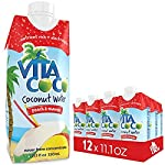 Vita Coco Coconut Water with Peach and Mango - 330ml (Pack of 12)