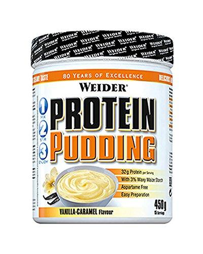 Weider Protein Pudding Vainilla y Caramelo - 450 gr