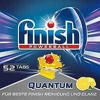 Finish Calgonit Quantum Citrus Spülmaschinentabs, XXL Pack (1 x 52 Tabs)