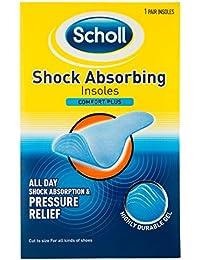 Scholl Shock Absorbing Insoles Comfort Plus - One Pair 2b71971b82d