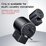 Best Baseus MP3 Players - Worldwide Travel Adapter, the best International Plug [US Review