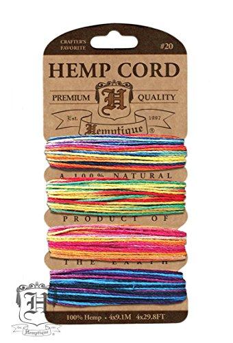 hemptique-set-di-4-rocchetti-di-spago-con-resistenza-media-di-9-kg-colore-variegato-multicolore
