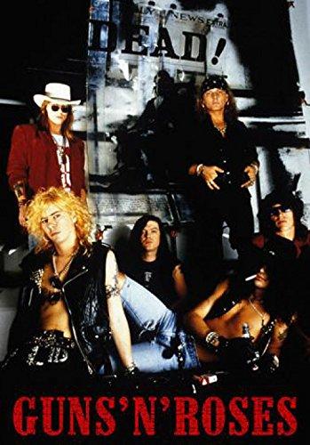1art1® - Poster Guns N' Roses Dead!