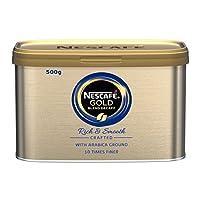 NESCAFÉ Gold Blend Instant Decaffeinated Coffee Tin, 500g