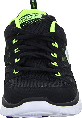 Skechers Flex Advantage Herren Sneakers Black/Lime (Schwarz/Neon Gelb)