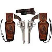 WDK Partner A0200096 - Déguisements - Coffret revolver 8 coups