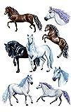 AVERY Zweckform 53692 Kinder Sticker Pferde 21 Aufkleber