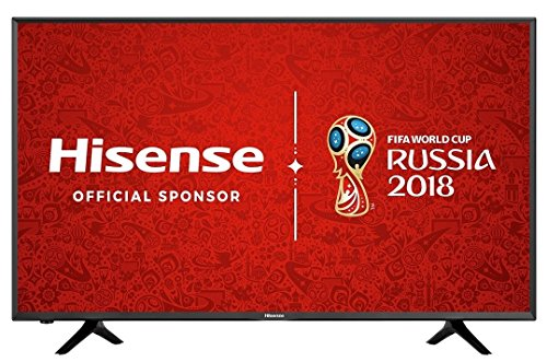 Hisense H43N5300 43 Inch SMART 4K Ultra HD LED TV Freeview Play USB Record, (Certified Refurbished)