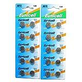 2x10 X AG13 LR44 Button Cells Batteries - A76 L1154 SR44 G13 357 - 1.5V