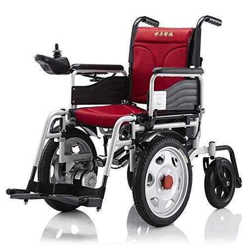 Sedia a rotelle compatta di Aiuto di Mobilità di Potere Pieghevole Pieghevole di Alta qualità di Jylybmq, Sedia a rotelle elettrica Leggera, motorino Medico Portat