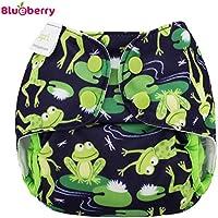 Blueberry Capri 2.0 Überhose - Froggies Größe Newborn (2,7-7,5 kg) / Druckies