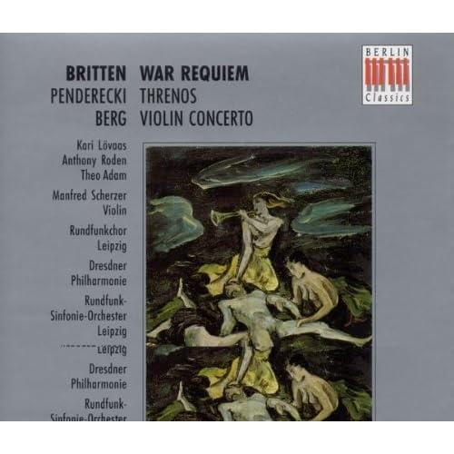 War Requiem Op. 66: Hosanna -Benedictus - Hosanna