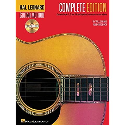 Hal Leonard Guitar Method, Complete Edition: Books & CD's 1, 2 and 3 by Will Schmid (2002-05-01)