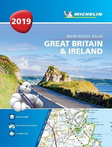 Great Britain & Ireland 2019 -Tourist & Motoring Atlas A4 Paperback 2019