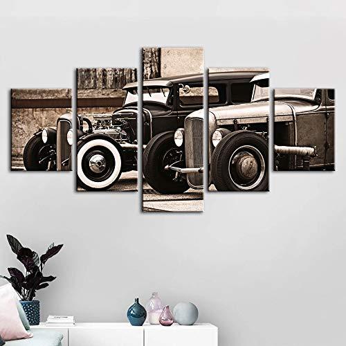 Mmwin PictureRetro Modular Car Classic Home Decor