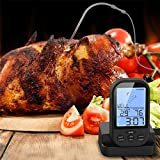 Best Digital Meat Thermometer Wirelesses - Homely Wireless Barbecue Thermometer Digital Screen Grill Meat Review