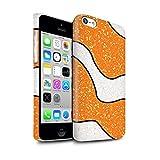 Stuff4 Clipser Brillant Coque de Coque pour Apple iPhone 5C / Poisson-Clown Orange...
