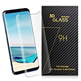 SURWELL Screen Protector Samsung Galaxy Tempered Glass (Clarity)